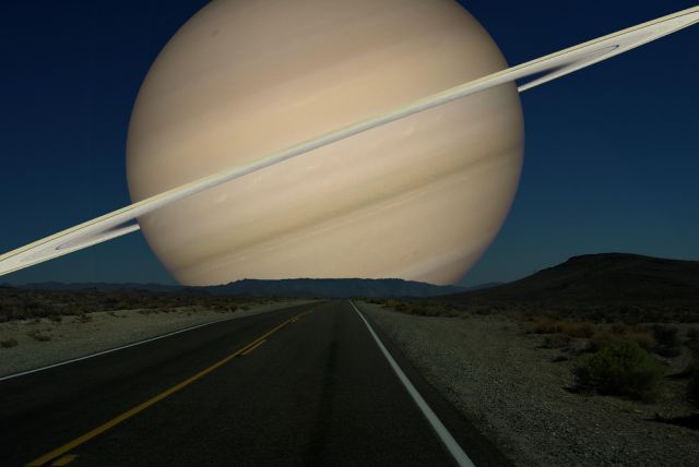 visão de Saturno