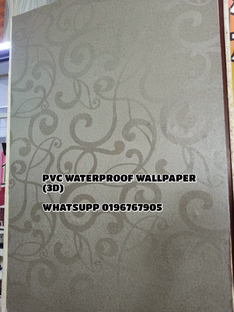 Set cadar patchwork cotton pvc waterproof wallpaper 3d for 3d wallpaper waterproof