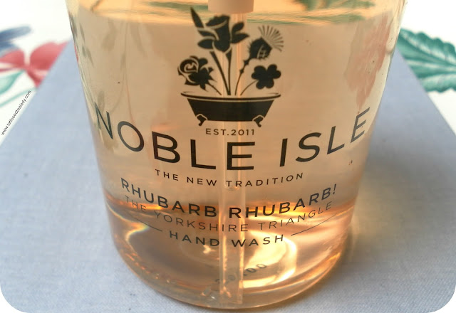 Noble Isle Rhubarb Rhubarb! Hand Wash