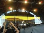 Scorpions, 9 iunie 2011, Coast to Coast, Pawel Maciwoda, James Kottack si Rudolf Schenker (stanga, ascuns de mainile ridicate)
