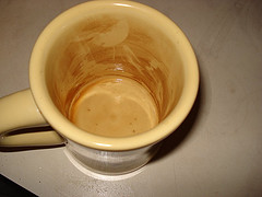 dirty coffee cup How Do You Clean A Coffee Maker With White Vinegar
