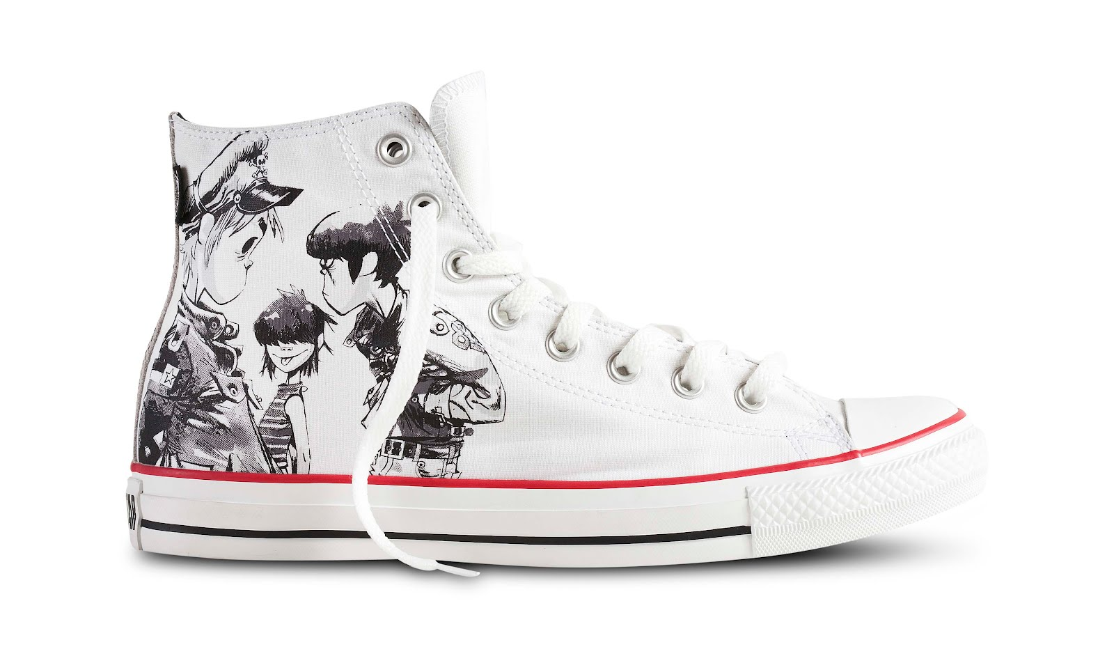 CONVERSE X GORILLAZ CHUCK TAYLOR ALL STAR COLLECTION 2012