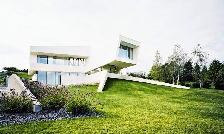 Casa minimalista freundorf project a01 viena austria for Arquitectura minimalista casas