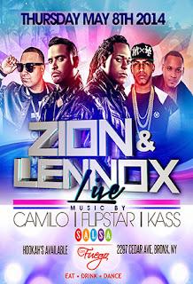 Zion & Lennox - Salsa con Fuego - May 8, 2014