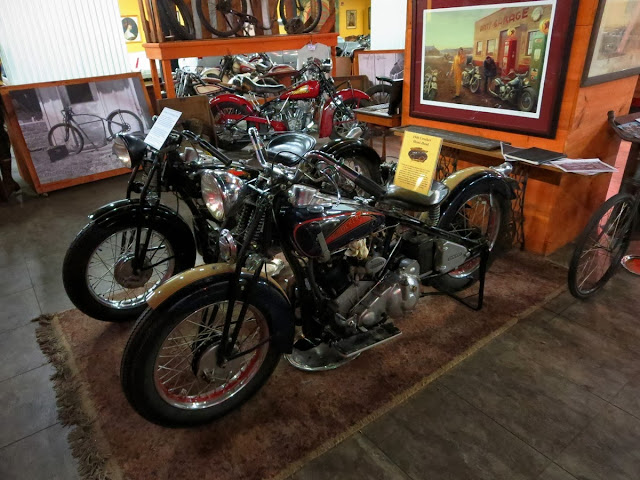 Crocker Motorcycles at Wheels Through Time