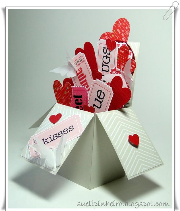 tarjeta caja  card in a box