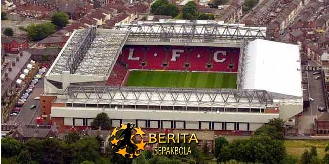 Liverpool Rogoh Rp 2 Triliun untuk Tambah Kapasitas Stadion Anfield
