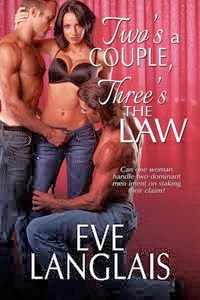Can she handle a pair of guys determined to stake a claim?