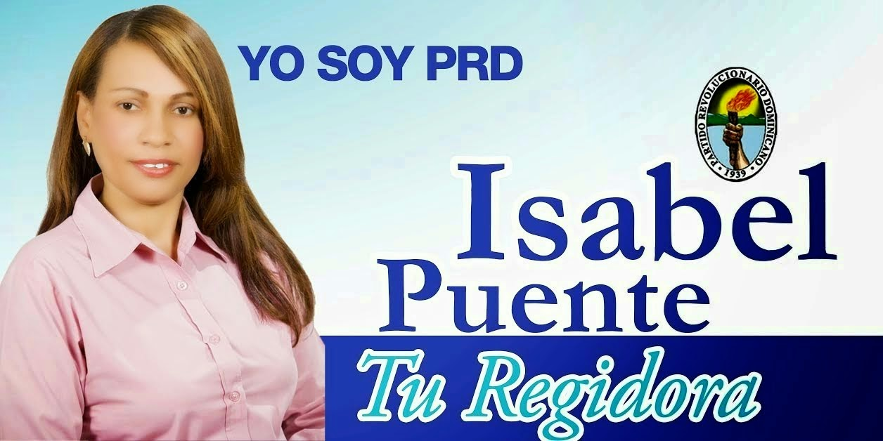 Isabel Puente Regidora!