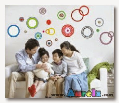 colorful circles AY9049