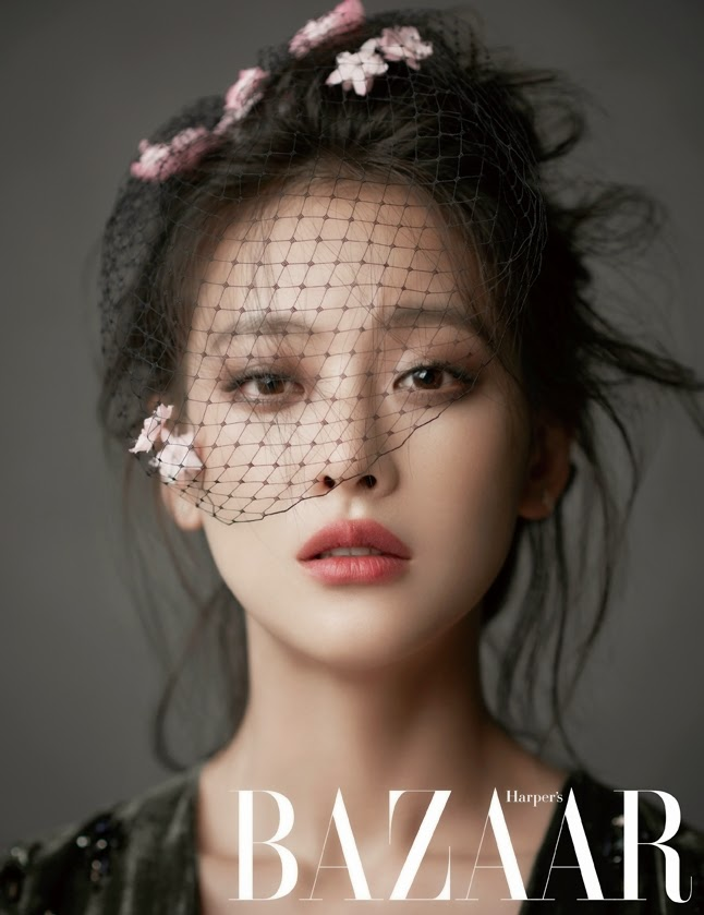 Oh Yeon Seo - Harper's Bazaar Magazine November Issue 2014