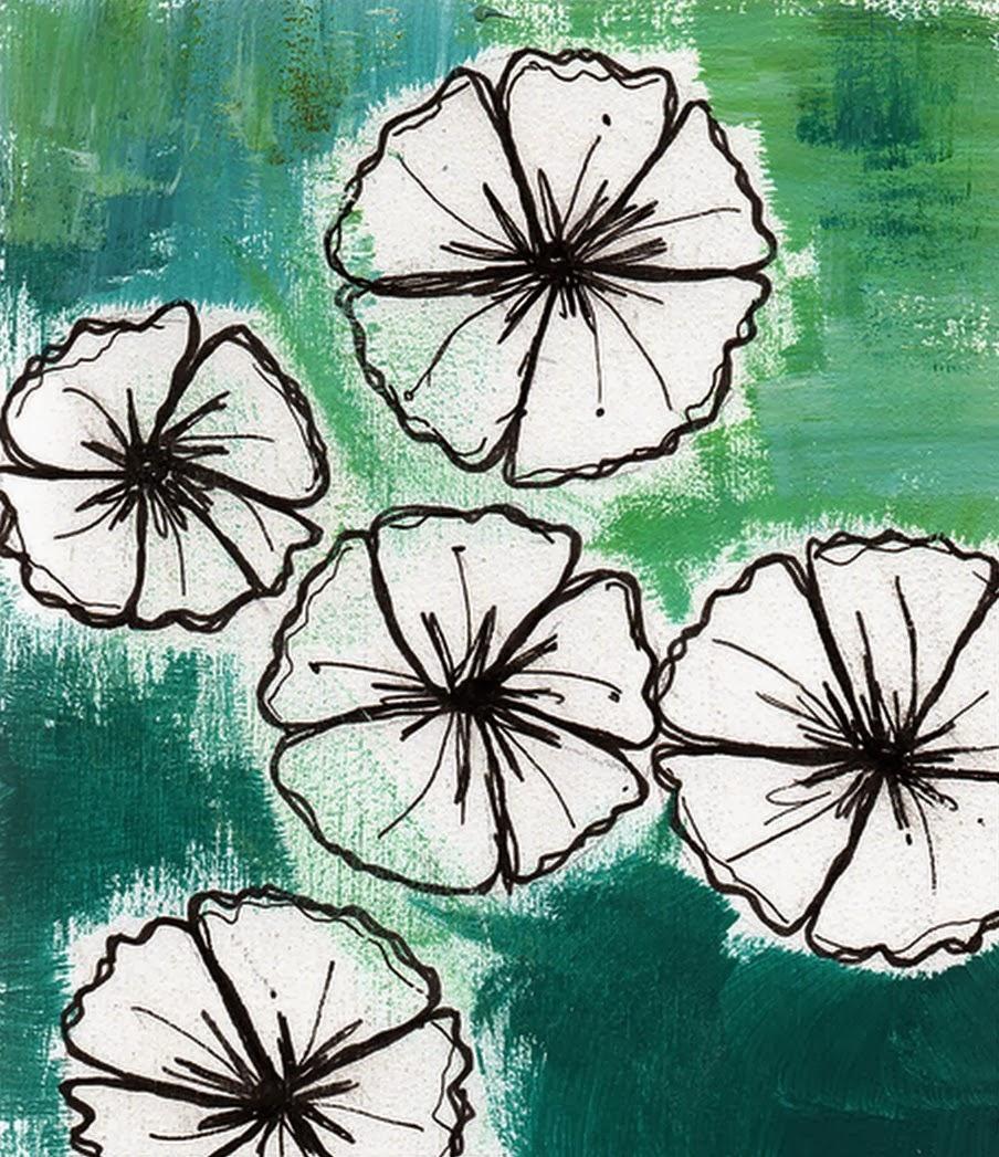 cuadros-faciles-de-flores