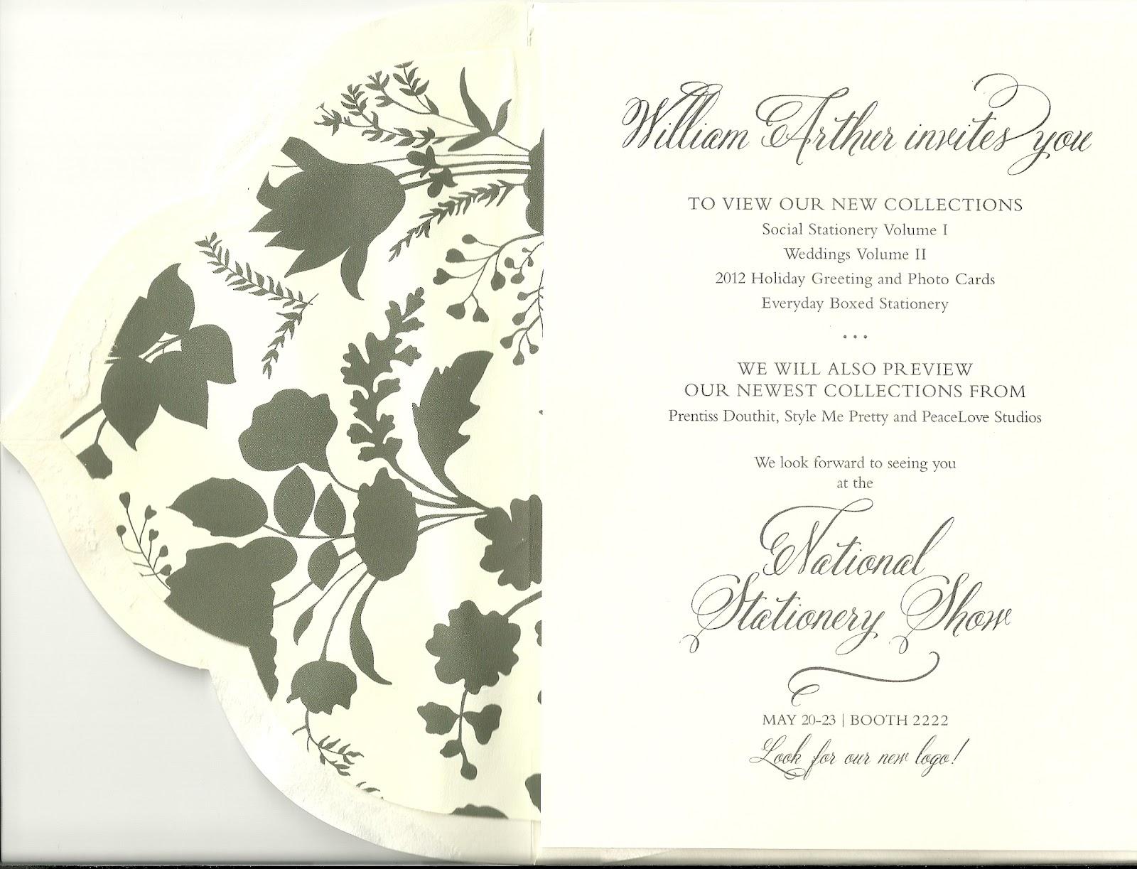William Arthur Deckle Edge Wedding Invitations Fashion Wedding Shop