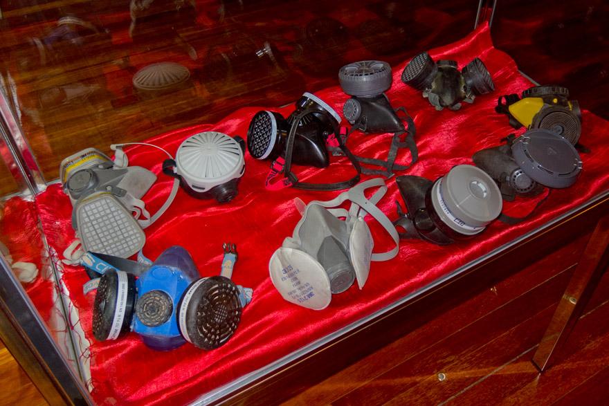 Máscaras de mina de José Manuel López Alonso