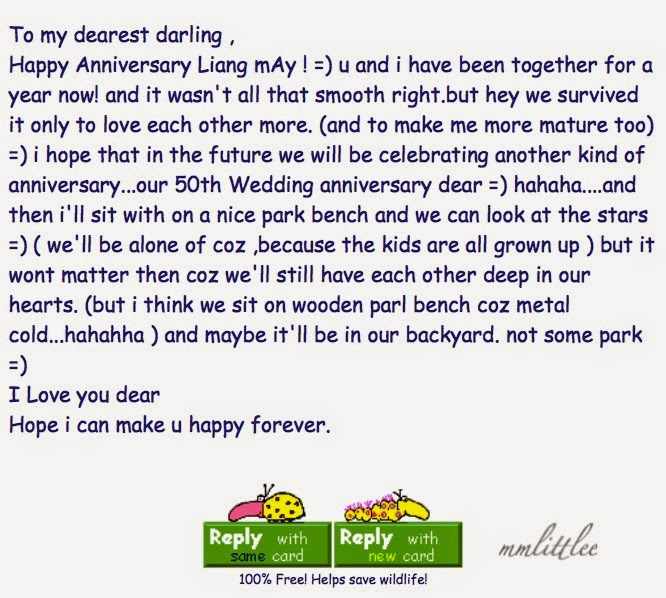 My Husband Does Not Send Me Letters Like These Anymore But I Am Touched That He S Been Counting We Are Celebrating Our 8th Year Wedding Anniversary Today