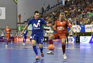 Inter Movistar suma el primer punto de la gran final de la Liga tras  imponerse con brillantez y contundencia a ElPozo Murcia por 7-3. 71f230f2ac333