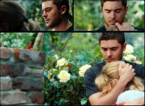 Zac Efron, Taylor Schilling, The Lucky one