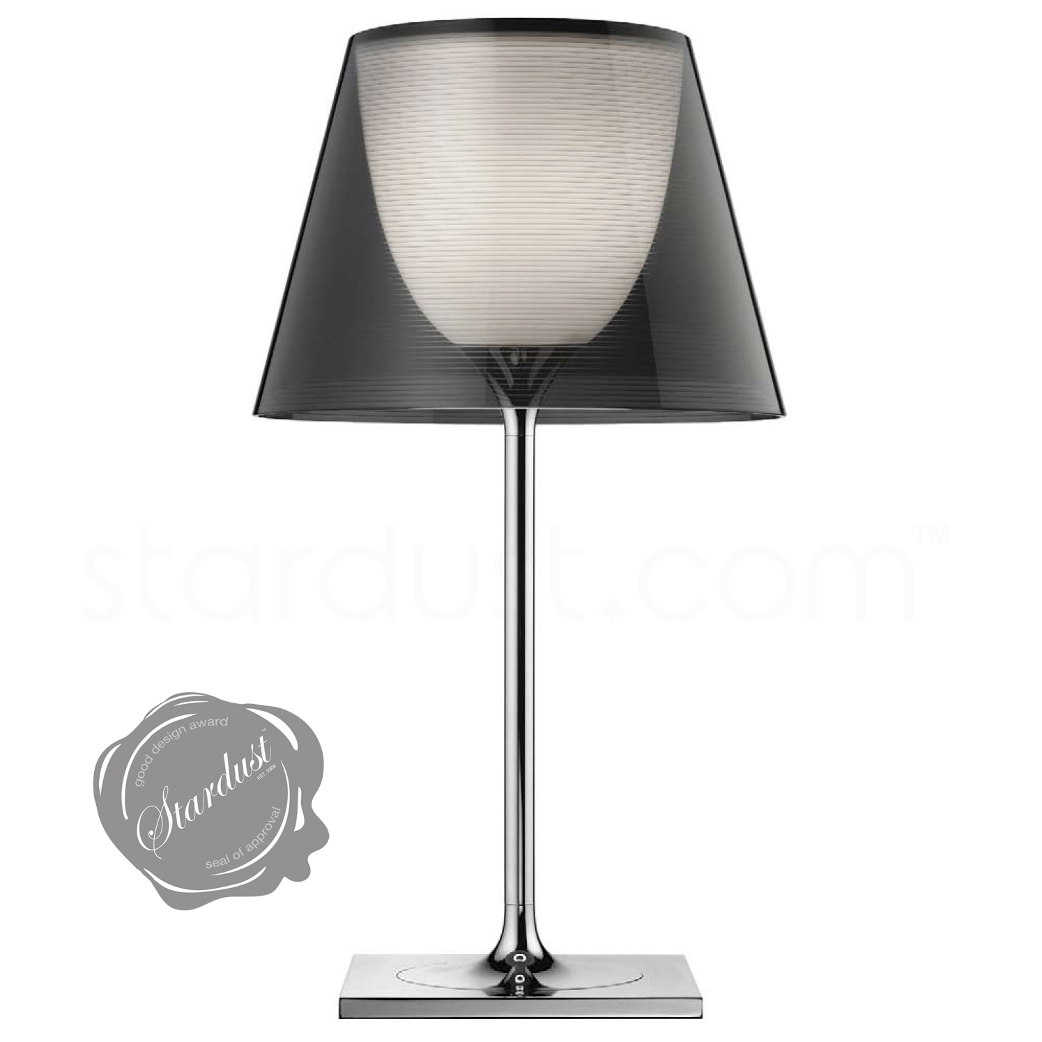 Modern interior design original ktribe t classic flos glass table lamp by philippe starck for Philippe starck ak table lamp