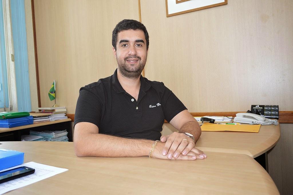 Secretário de Educação, Leonardo Vasconcellos, frisa que restaurar as unidades de ensino do município é uma das principais ações da pasta