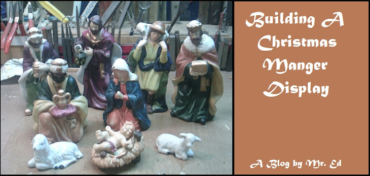 Building a Scale Model Manger for Christmas Display