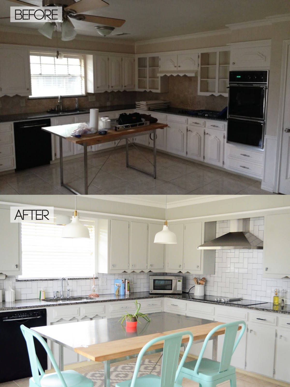 Stacy charlie project update kitchen remodel for Small kitchen updates on a budget