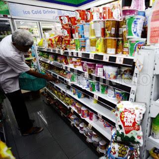 Modal buka mini Market