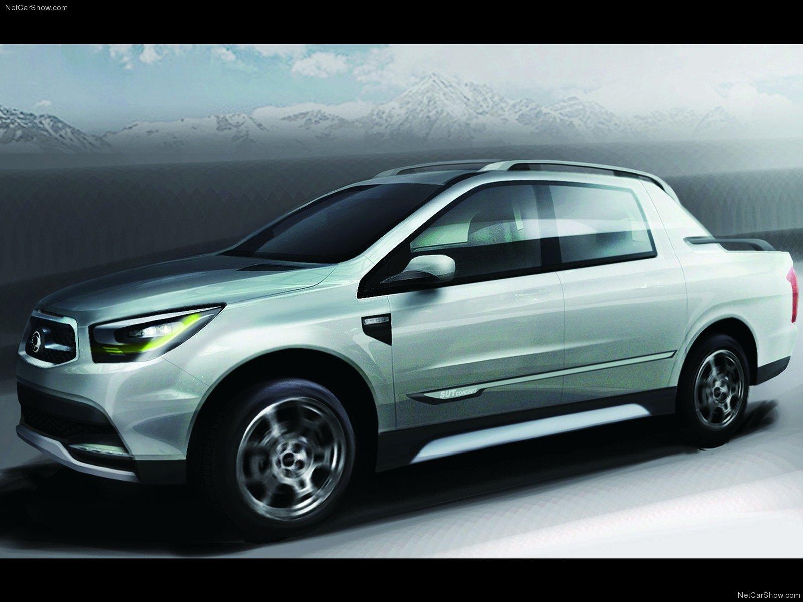 Hình ảnh xe ô tô SsangYong SUT 1 Concept 2011 & nội ngoại thất