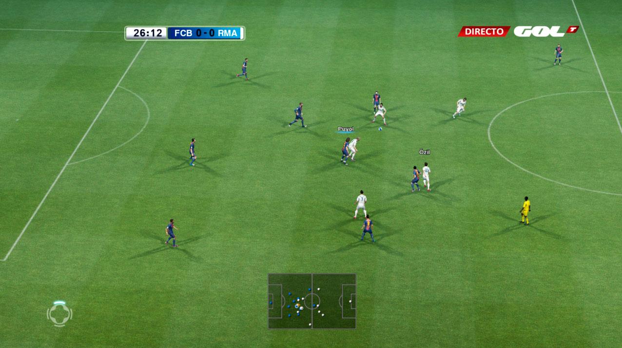 Scoreboard Liga BBVA 2.0 - PES 2013