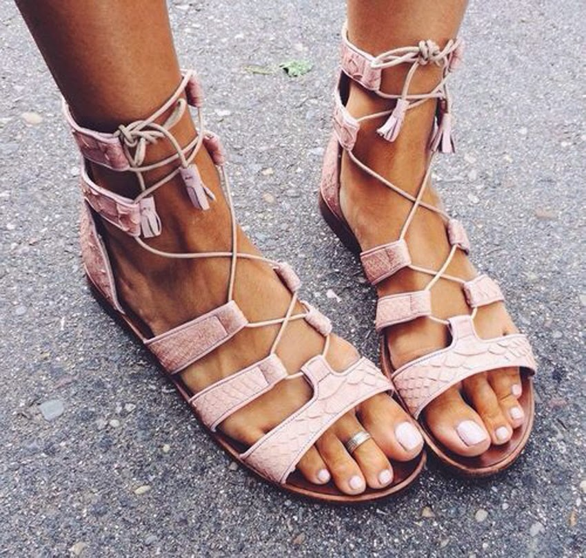 Sound of Sweet Lullabies-Style-Fashion-Inspiration-Sandals-Shoes