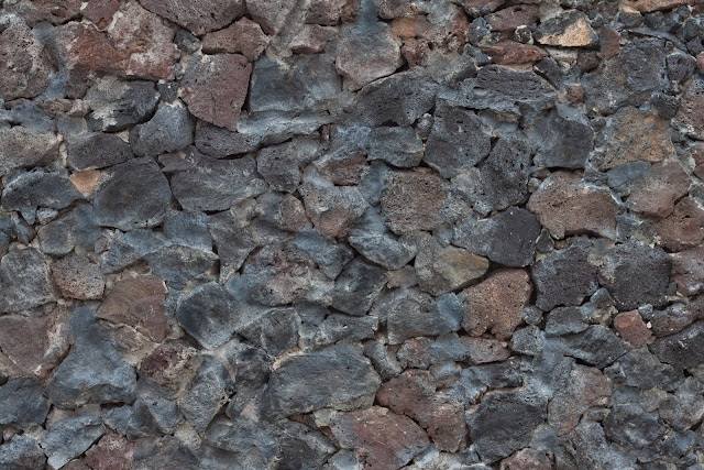 Coloured rock stones texture