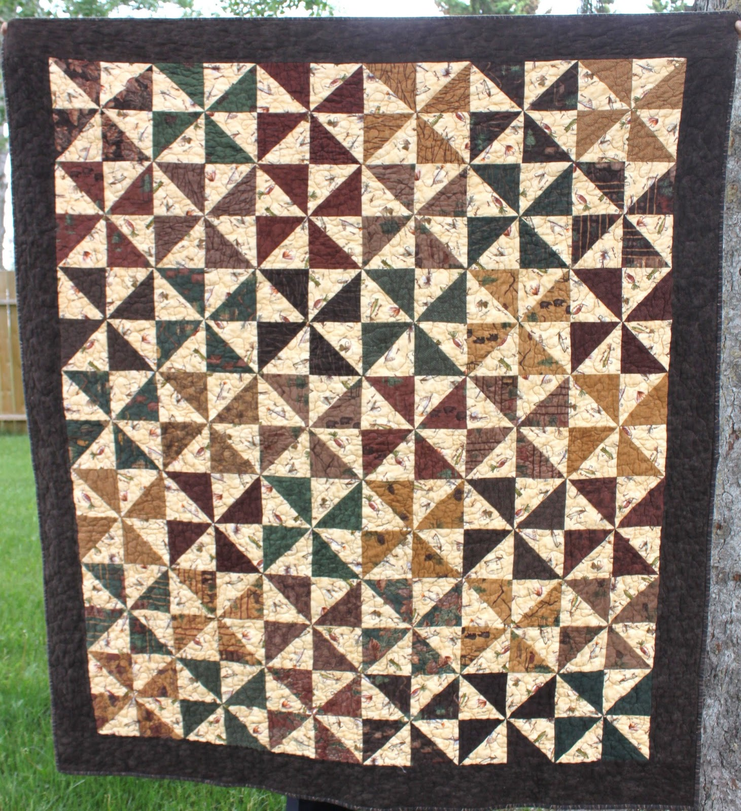Daydreams of Quilts: Finished Father's Day Quilt for Dad : st albert quilt shop - Adamdwight.com