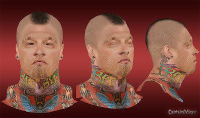 NBA 2K13 Chris Andersen Cyberface Mod