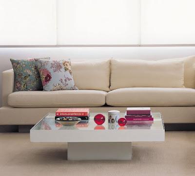 almofadas com estampas florais