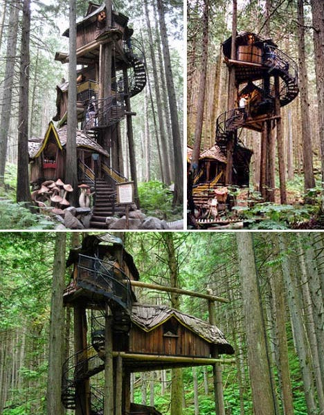 Project Gridless Elf Treehouse