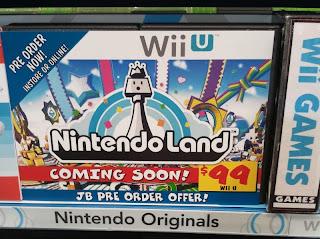 nintendo land preorder Rumor   Nintendo Land To Be Sold Separately?