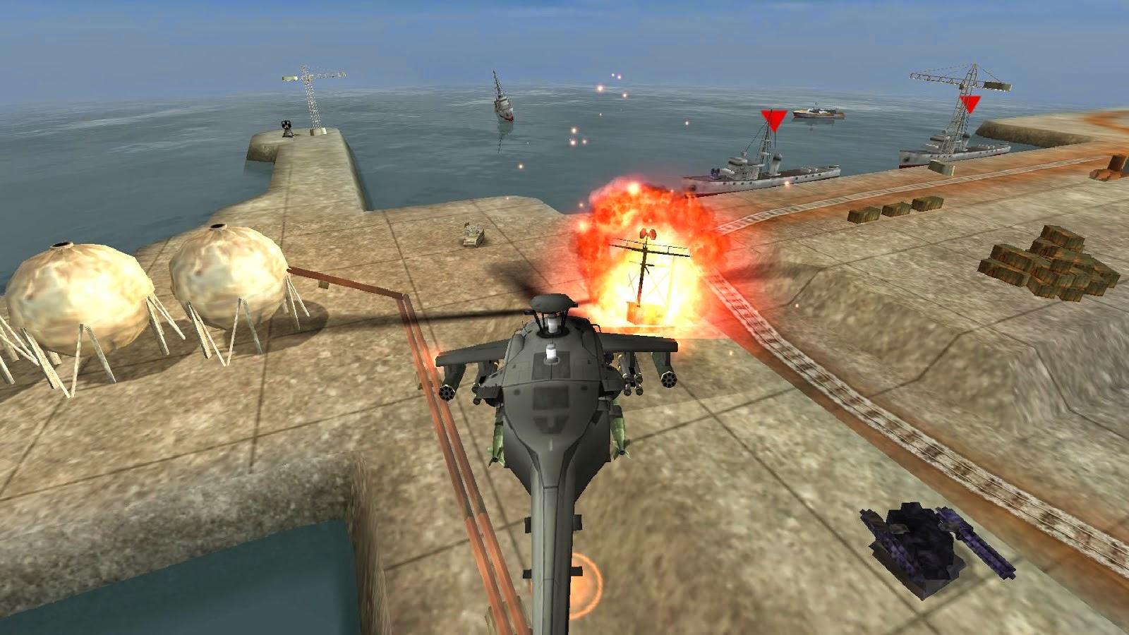لعبة الهليكوبتر الرائعة Gunship battle Helicopter مهكرة للاندرويد