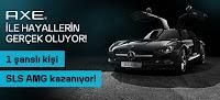 Axe-Çekiliş-Kampanyası-AXE-Mercedes-SLS-AMG-Otomobil-Çekilişi