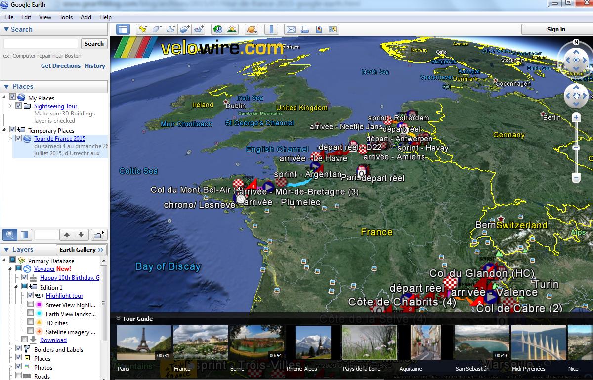 how to make a google earth tour