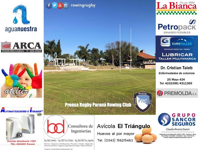 Prensa Rugby Paraná Rowing Club