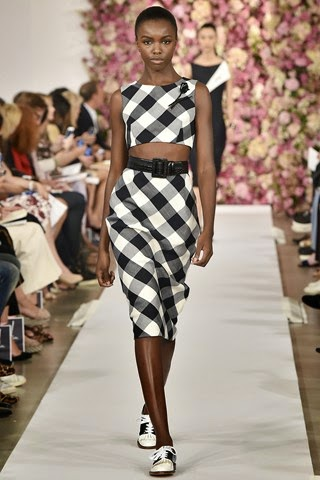 nyfw 2015 runway fashion show oscar de la renta