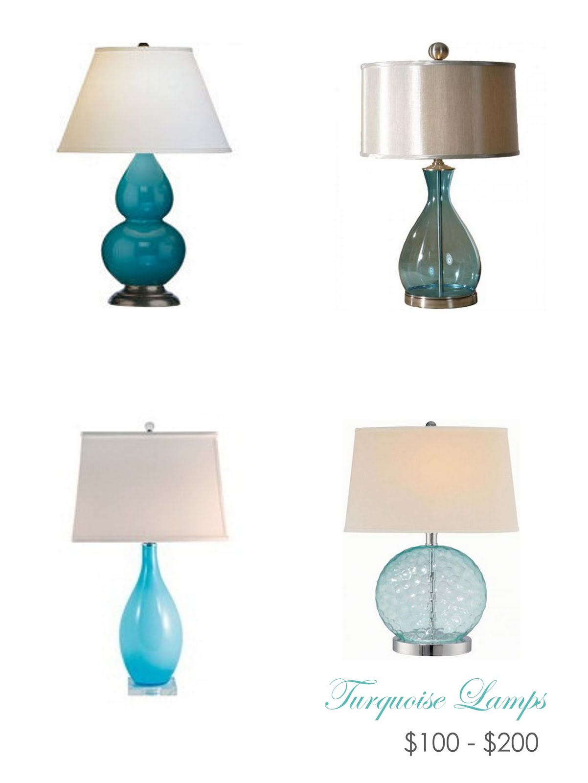 Lamps Available Here, Here, Here And Here.