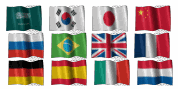 Google Flag Translate Widget For Blogger Blogspot 05