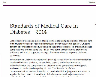 Ada 2015 standards of care ppt