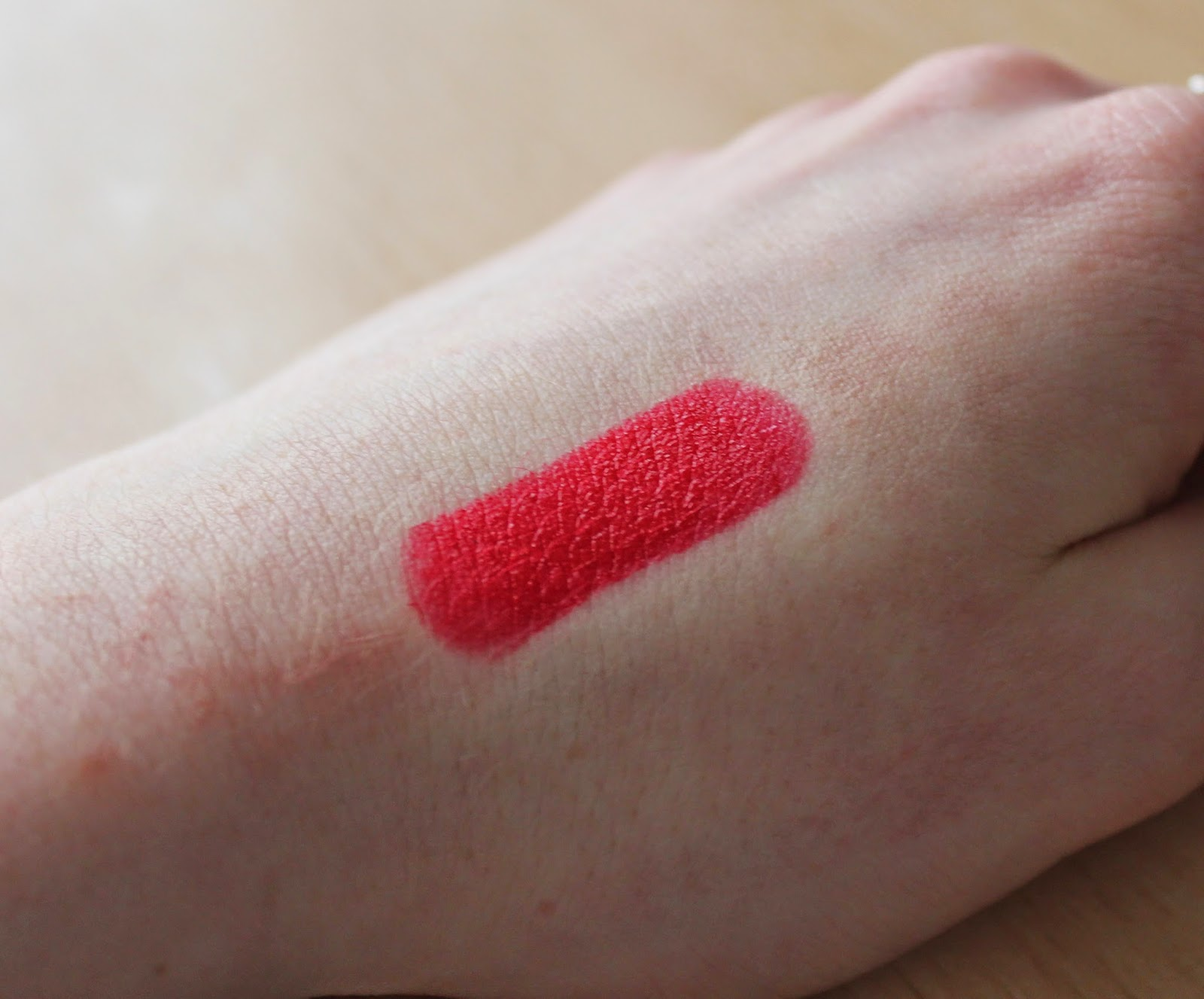 Beauty Bags And Baking Elizabeth Arden Red Door Red Lipstick Review