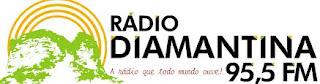 ouvir a Rádio Diamantina FM 95,5 Itaberaba BA