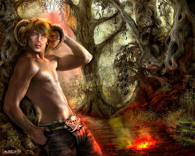 hero-of-the-forrest-fantasy-wallpaper