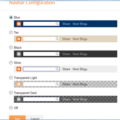 Steps to disable blogspot navigation bar