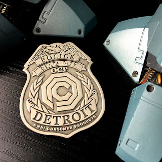 RoboCop Delta City Police Badge Pin by Skuzzles