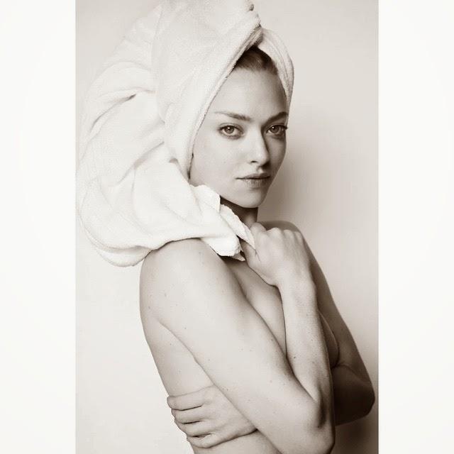Amanda Seyfried mesmerises for the Towel Series
