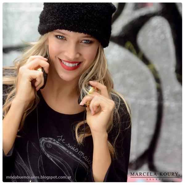 Moda invierno 2014 - Marcela Koury Select ropa de mujer de moda casual invierno 2014.